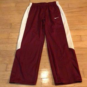 Nike Men's Therma FIT Fleece Pant Maroon